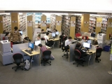 Chung Chi College Library _second-floor