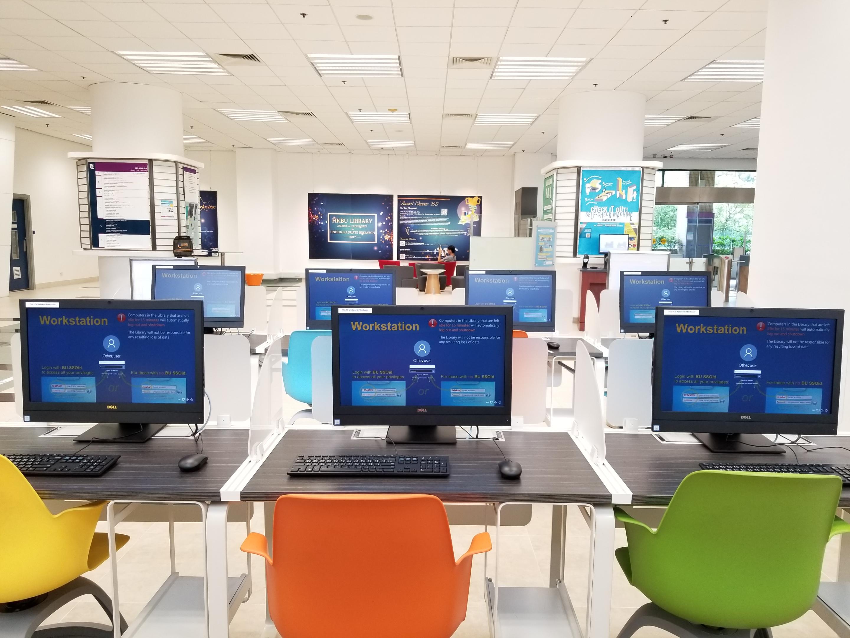 Main Library - L3 Main Lobby - Public PCs Area
