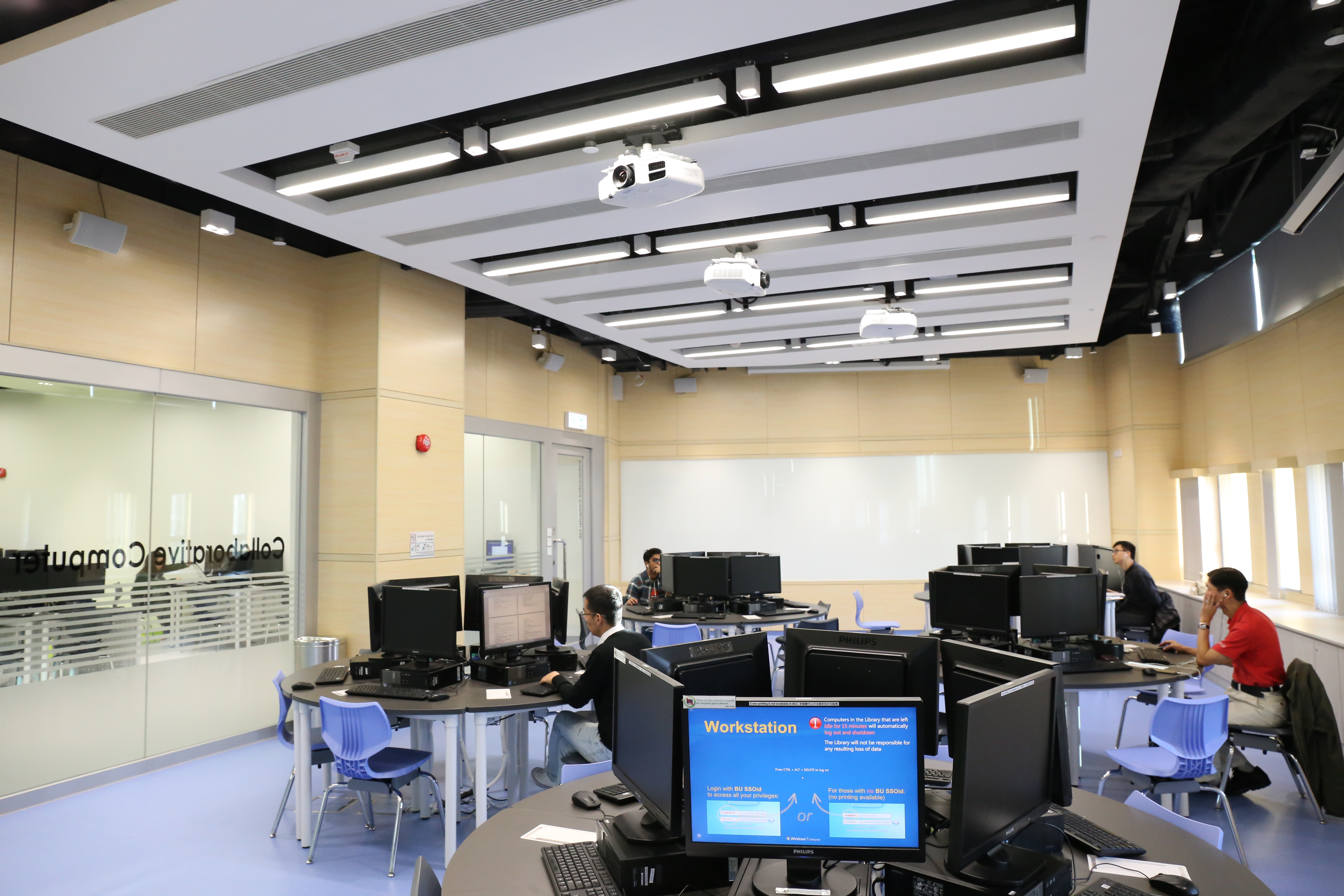Main Library - L4 MLC - Collaborative Computer Laboratory
