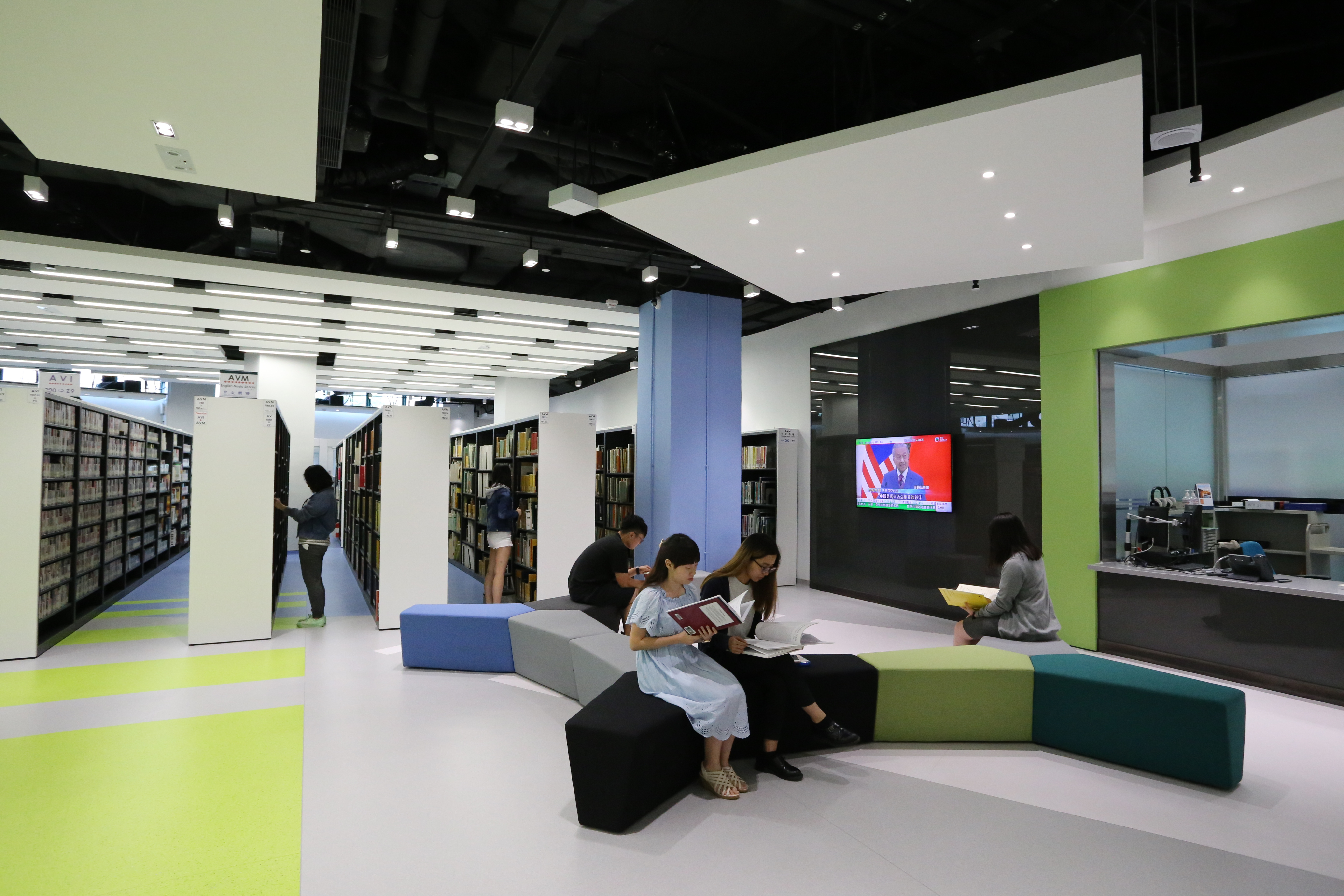 Main Library - L4 Multimedia Learning Centre