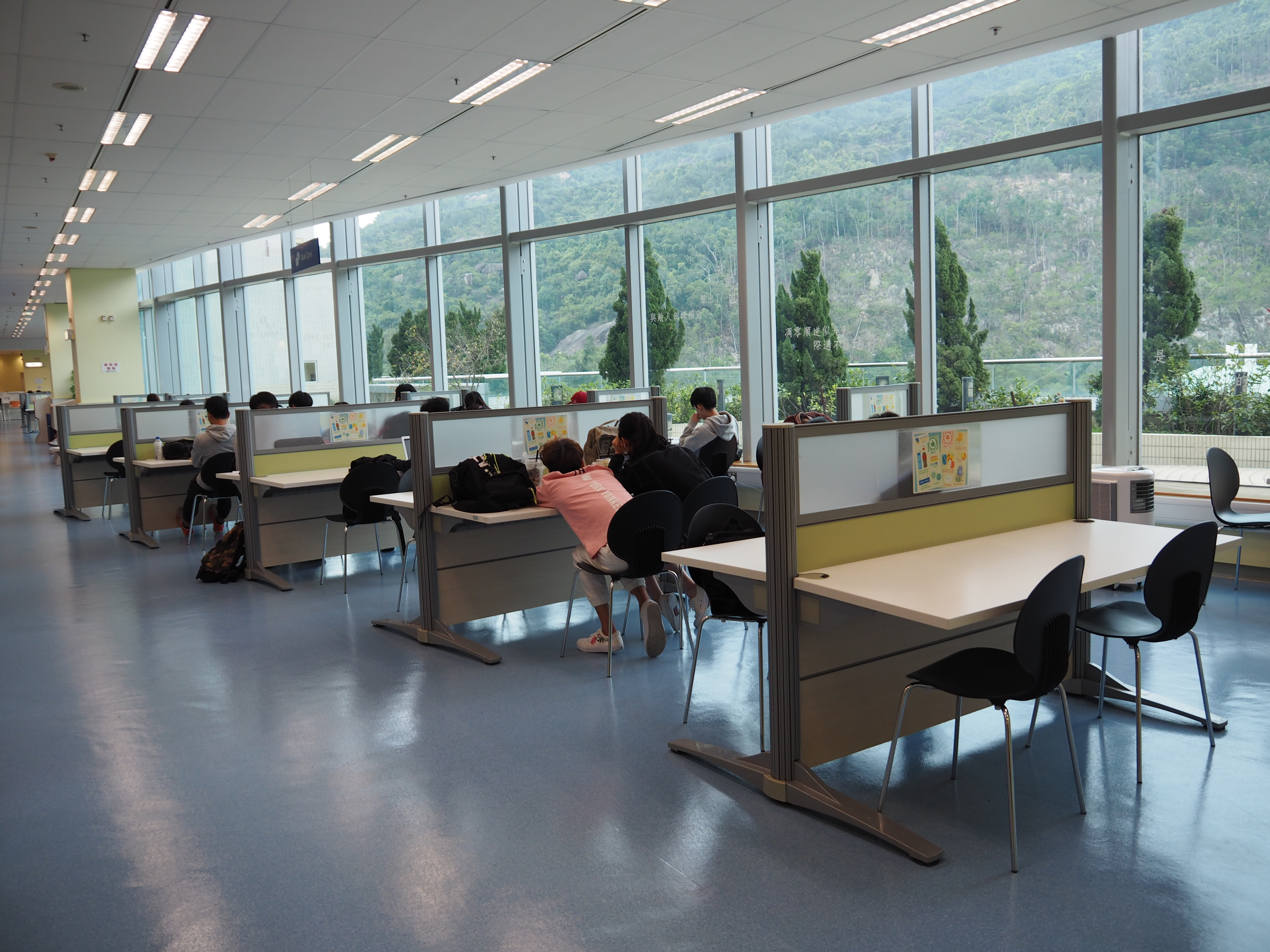 Shek Mun Campus Library - Study Area